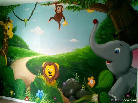 chambre b 233 b 233 animaux de la jungle deco