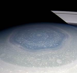 Saturn's Strange Hexagon – In Living Color! - Universe Today