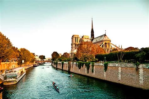 Boat Tour Paris Seine by Seine River Cruise Bike Tours Bike And Barge Trips In France