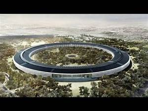 Apple unveils plans for futuristic HQ - YouTube