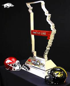 Battle Line Rivalry Trophy Unveiled For Annual Mizzou ...