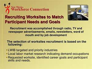 PPT - Workforce Connection of Central New Mexico (WCCNM ...