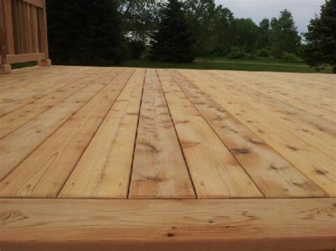 wait for weather to stain a new cedar deck doityourself community forums