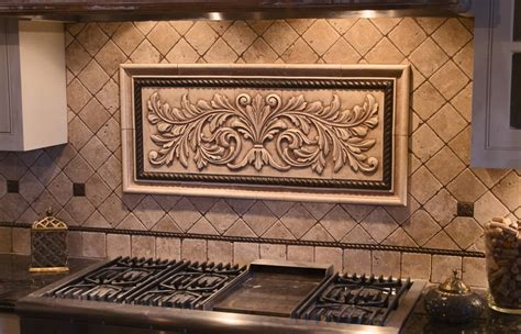 large pressed decorative tiles by andersen ceramics tx
