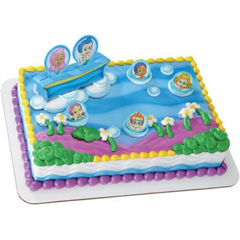 guppies cake decoration topper girlboy birthday