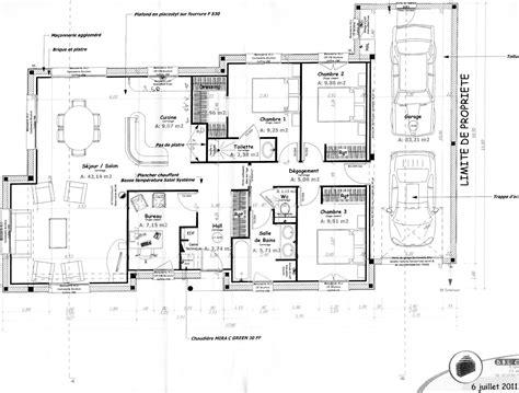 plan d int 233 rieur de maison
