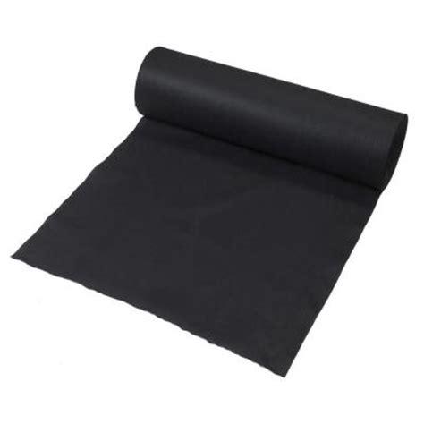 3 ft x 300 ft black polypropylene non woven filter fabric 35 3 300 the home depot