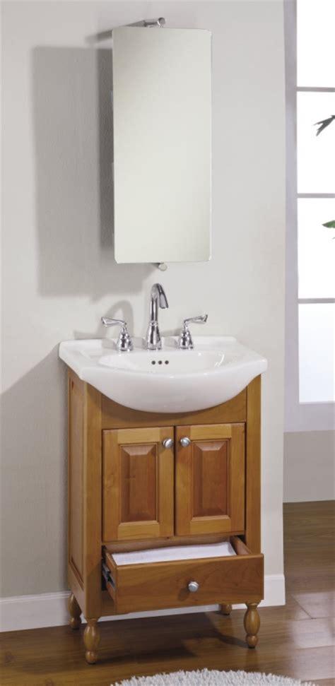 22 inch single sink narrow depth furniture bathroom vanity with peaceful ideas sinks and