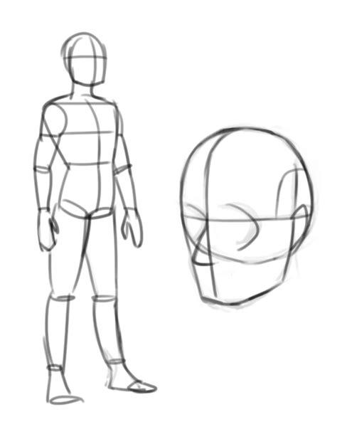 comment dessiner un homme