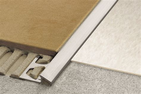 schluter 174 reno u sloped transitions for floors profiles schluter