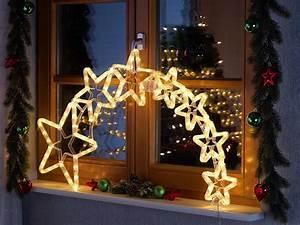 Fenster Licht Deko : lunartec led stern mit schweif weihnachtsdeko kometenschweif mit 120 leds ip44 ~ Markanthonyermac.com Haus und Dekorationen