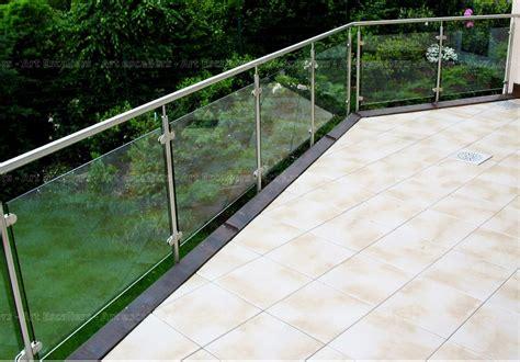 garde corps ext 233 rieur horizontal m 233 tal inox verre escaliers