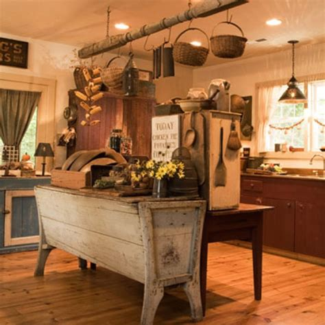 primitive kitchen kitchen design