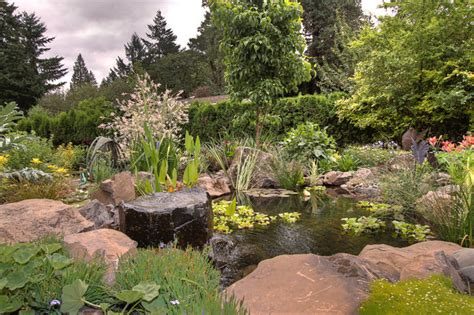 Rustic Sofas For Sale by Natural Pond Traditional Landscape Portland By