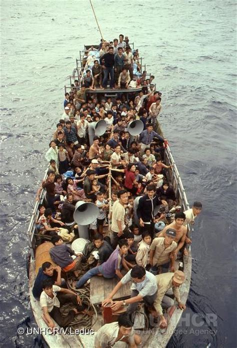 Vietnamese Boat People Hong Kong by Refugees The Canadian Encyclopedia