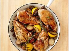 Skillet Rosemary Chicken Recipe Food Network Kitchen
