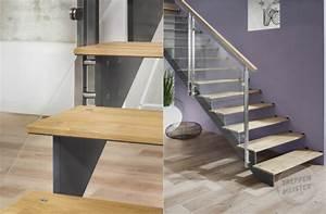 Stahl Holz Treppe : filigrane treppen f r ihr modernes zuhause planungswelten ~ Markanthonyermac.com Haus und Dekorationen