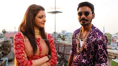 Dhanush Kajal Aggarwal In Movie Maari Still # 1