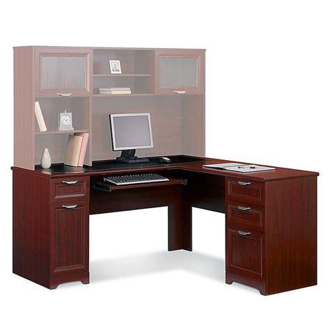 realspace 174 magellan collection l shaped desk 30 quot h x 58 3 4 quot w x 18 3 4 quot d classic cherry