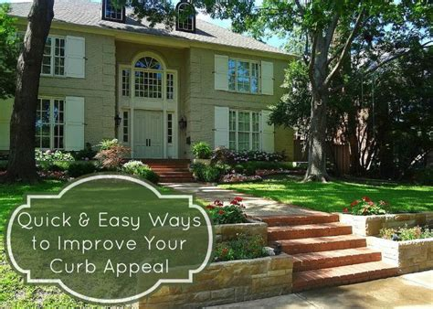 Five Easy Ways To Improve Your Curb Appeal  How Was Your Day?