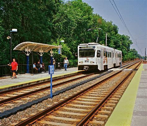 baltimore light rail stops images