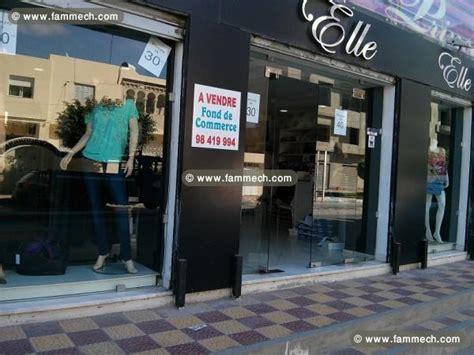 immobilier tunisie fond de commerce hammam sousse boutique pr 234 t a porter femme