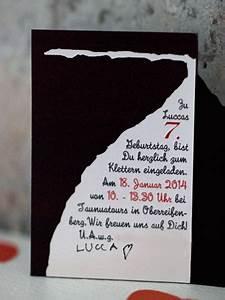 Einladung Kindergeburtstag Wald : wundersch n gemacht kindergeburtstag kletterparty mit herz kinderparty einladung pinterest ~ Markanthonyermac.com Haus und Dekorationen