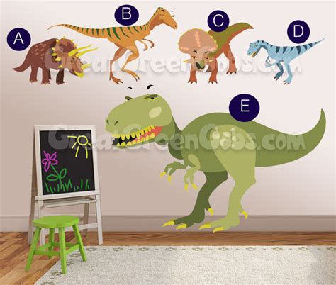 Dinosaur Wall Stickers 2017  Grasscloth Wallpaper