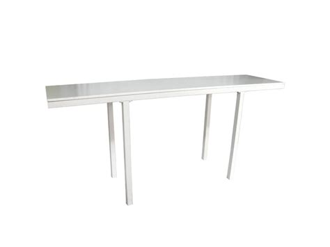 Long White Bar Table   Your Event Delivered