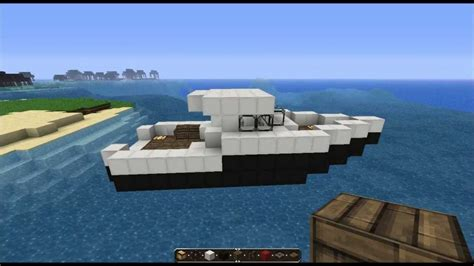 How To Make A Little Boat In Minecraft by Minecraft Tutorial Fishingboat Youtube
