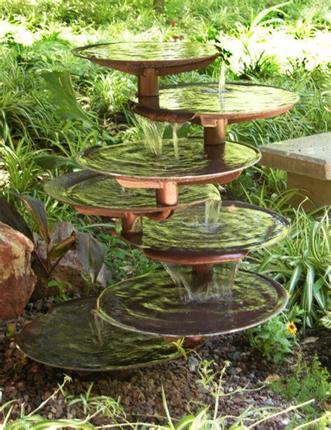 Une Fontaine De Jardin Design  Quelques Idées En Photos