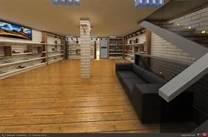 Deux Maximums Shop : ayakkabi showroom 3d izimler ~ Markanthonyermac.com Haus und Dekorationen
