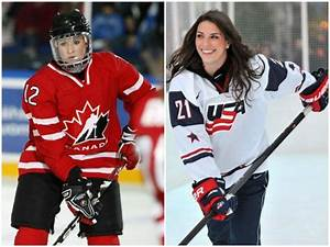 There are 10 Wisconsin players in tonight's USA-Canada ...