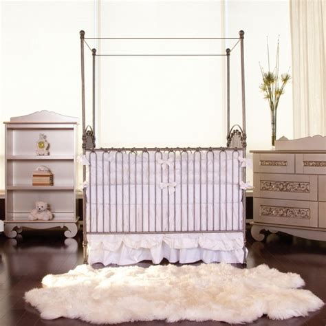 venetian crib in pewter by bratt decor cribs furniture for traditional cribs by