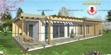 tarif maison bois kit contemporaine