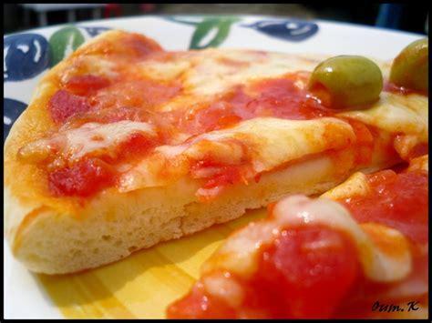 pizza avec une pate extraordinaire inratable le de