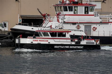 Vancouver Fire Boat 3 by Seattle Fire Boats