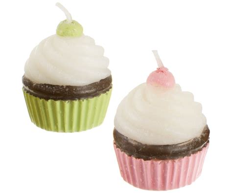 lot 4 bougies forme cupcakes tendance d 233 co gourmand