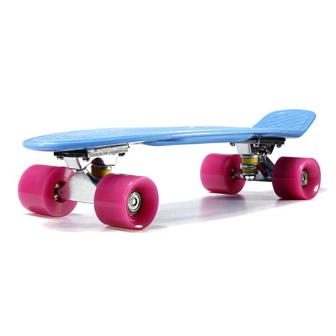 Buy 4 Wheels Skateboard Deck Mini Cruiser Skate Fish Long