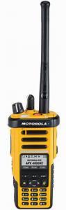 Motorola Solutions Inc. APX 4000XE Portable Radio in ...