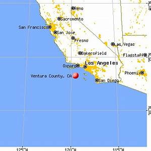 California Map Ventura County