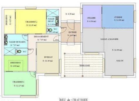 plan maison metallique mod 232 le moderne steel en plain pied