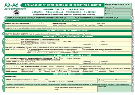 comment remplir la declaration cfe auto entrepreneur la r 233 ponse est sur admicile fr