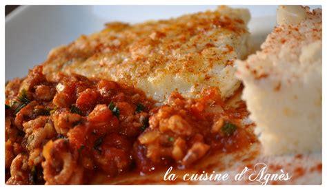 filet de julienne sauce crevette et tomate la cuisine d agn 232 sla cuisine d agn 232 s