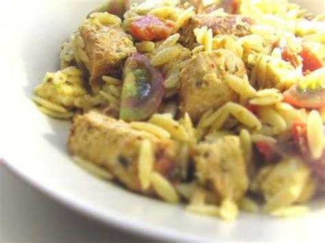 recettes de salade de p 226 tes et poulet