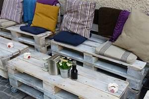 Paletten Möbel Garten : paletten m bel selber machen 4 kreative inspirationen ~ Markanthonyermac.com Haus und Dekorationen