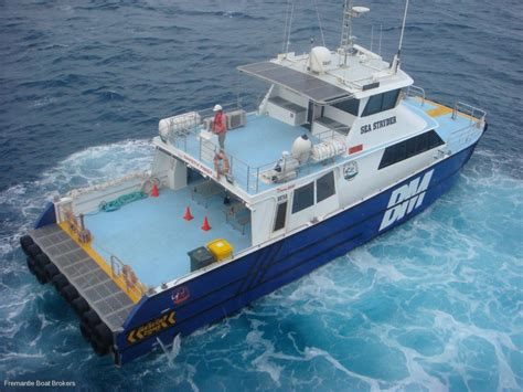 Commercial Catamaran For Sale Australia by Catamaran Twin Jet Utility Transfer Vessel Commercial