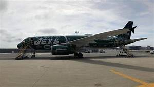 Photos: JetBlue Goes Green With a Refreshed NY Jets ...