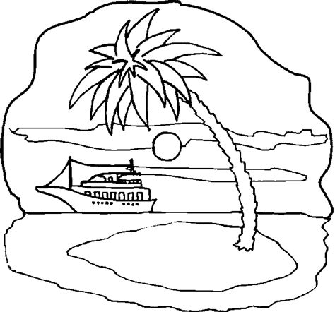 Barbie Island Princess Boat Song by Boat With Island Coloring Pages Print Coloring Pages