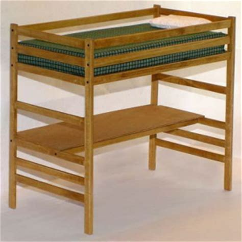 Loft Bed Woodworking Plans by Children S Loft Bed With Desk Woodworking Plans Ebay